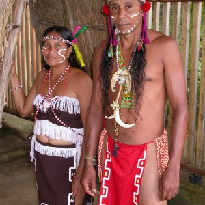 Kalinago Man & Woman